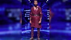 Dual Career Option? Pandya Walks Like a Pro as he Turns Showstopper For Amit Aggarwal at LFW | WATCH