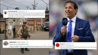 J&K's Article 370 Scrapped, Harsha Bhogle Says 'It's Our Responsibility To Make It A Wonderful Time To Be Young In Kashmir & Ladakh' Tweet Backfires | SEE POSTS
