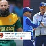 Hashim Amla Responds to Ravi Shastri's Comment on Retirement, Thanks Team India Head Coach And Refers to Him as 'Sir' | SEE POST