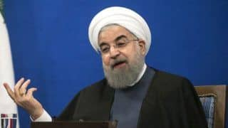 If US Wants Talks, it Must Lift Sanctions: Iran President Hassan Rouhani