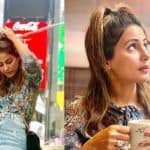 Hina Khan Looks Drop-Dead Gorgeous in Floral Dress And Denim Skirt as She Takes a Stroll in New York City With Beau Rocky Jaiswal