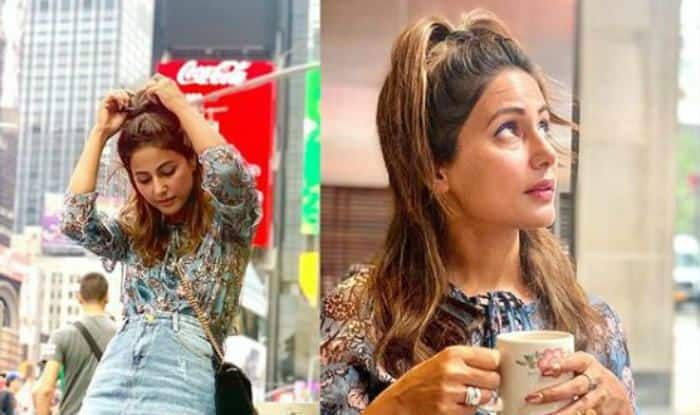 Image result for Hina Khan NYC