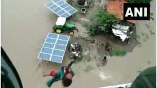 IAF Personnel Rescues Girl in Flood-affected Jamnagar | Watch Video