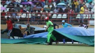 India vs West Indies 1st ODI MATCH HIGHLIGHTS: Match Abandoned Due to Persistent Rain in Guyana