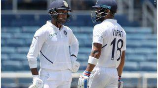 INDvsWI: अर्धशतक के करीब मयंक अग्रवाल, लंच तक टीम इंडिया का स्कोर 72/2