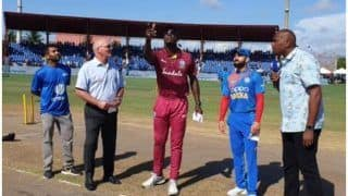 India vs West Indies, 2nd T20: भारत ने जीता टॉस, पहले बल्लेबाजी करने का फैसला