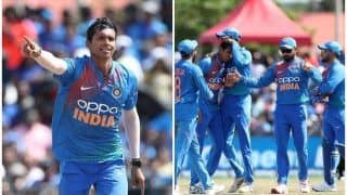 भारत ने पहले टी-20 में वेस्टइंडीज को 4 विकेट से हराया, नवदीप सैनी बने मैन ऑफ द मैच