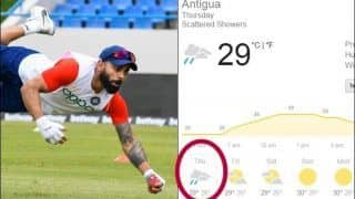 India vs West Indies 1st Test Weather Forecast: Most Sunny, But Rain Expected to Intervene Over Weekend at Antigua