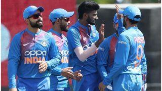 INDvsWI 1st T20: भारत ने विंडीज को 95 रनों पर रोका, पदार्पण में चमके नवदीप सैनी