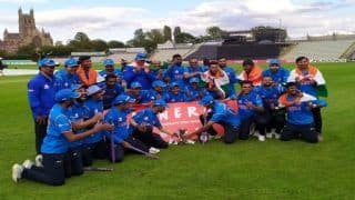 India Beat England by 36 Runs to Win Inaugural Physical Disability World Series T20