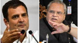 विपक्षी नेताओं को लाने की बात करके अशांति फैलाने की कोशिश कर रहे हैं राहुल: राज्यपाल