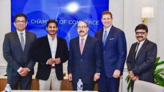 Jagan Mohan Reddy Calls For Catalysing US-Andhra Economic Ties