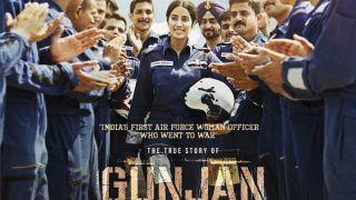 वायुसेना के पायलट के रोल में दिखेगी Janhvi Kapoor, देखिए फिल्म THE KARGIL GIRL का फर्स्ट लुक