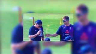 Ashes 2019: Jason Roy Spits in Water Bottle Before Offering it to Joe Denly at Headingley | WATCH VIDEO
