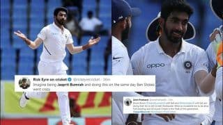 Ind vs WI: Jasprit Bumrah Sets Twitter on Fire With Five Wickets as India Defeats West Indies by 318 Runs in Antigua Test | SEE POSTS