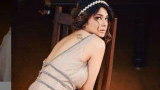 Jennifer Winget Flaunts Her Tattoo in Beige Princess Gown And We Can't Stop Gushing Over Her