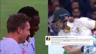 Jofra Archer TROLLED Brutally For Smiling After Steve Smith is Hit by Bouncer During 2nd Ashes Test Between England-Australia | SEE POSTS