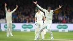 Ashes 2019: फिर कहर बनकर टूटे जोफ्रा आर्चर, ऑस्ट्रेलिया के दिग्गज 179 रनों पर ढेर