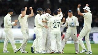 Ashes 2nd Test Report: Stuart Broad, Jofra Archer Reduce Australia to 80/4 Before Rain Forces Early Stumps on Day 3