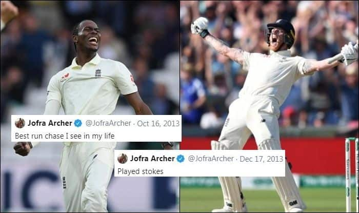 Ashes 2019 Twitters Nostradamus Jofra Archer Shares Old