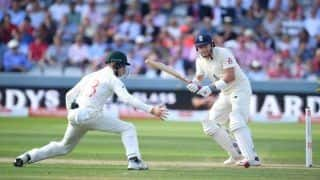 Ashes 2019 Report: Rory Burns, Jonny Bairstow Slam Fifties to Help England Post 258 at Lord's on Day 2