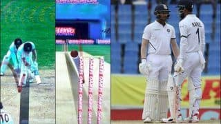 KL Rahul Ditches 'Best Friend' Mayank Agarwal Over DRS During 1st Test at Antigua, Replay Suggest Ball Was Missing Leg-Stump | WATCH VIDEO