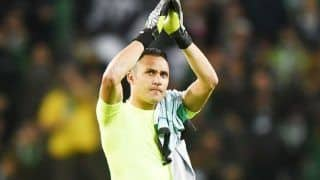 Real Madrid Goalie Keylor Navas Returns to Costa Rica Squad