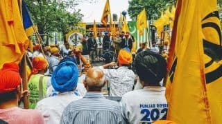 Pro-Khalistan Sikhs Protest With Pakistanis Outside UN Over Kashmir