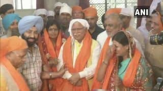 Assembly Polls on Mind, Haryana CM Khattar Begins 'Jan Aashirwad Yatra'