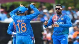IND vs WI 2nd T20 Match Report: Krunal Pandya, Rohit Sharma Power India to Series-Clinching 22-Run Win Against West Indies Via DLS Method