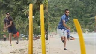 Ind vs WI: Yuzvendra Chahal, Kuldeep Yadav Have a Blast at Maracas Beach Ahead of 3rd ODI | WATCH VIDEO