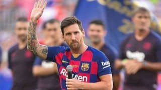 Injured Messi Sidelined For Upcoming Matches