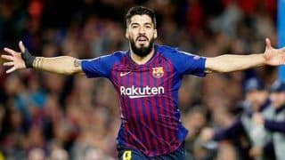 Luis Suarez Wins Joan Gamper Trophy For Barca in Final Seconds