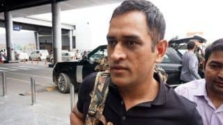 Lt. Col Mahendra Singh Dhoni Wins Hearts With His Singing Skills