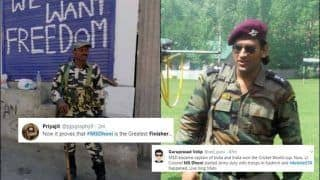 MS Dhoni Hailed as Best Finisher Hilariously After Article 370 Takes Centrestage in Jammu And Kashmir | SEE POSTS
