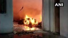 Maharashtra Factory Fire: भिवंडी का 'पावरलूम फैक्टरी' जलकर हुआ खाक, काबू करने में लगे दो घंटे