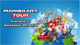 Mario Kart Tour coming to Android and iOS on September 25