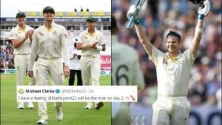 After Day 1 Belonged to Steve Smith, Michael Clarke Predicts Nathan Lyon Will Star on Day 2 of Ashes Between England-Australia | SEE POST