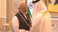 PM Modi Felicitated With Order of Zayed - UAE's Highest Civilian Award