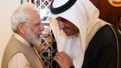 Day After PM Modi Honoured With UAE's Highest Civilian Award, Pakistan's Senate Chairman Cancels Visit to Gulf Nation
