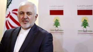Iran Hopes Tensions in Middle East Won't Escalate: Mohammad Javad Zarif