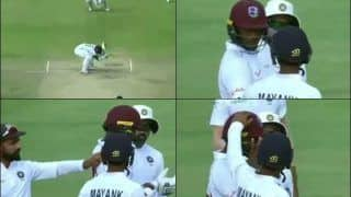 India vs West Indies: Ajinkya Rahane, Team India Players Show True Sportsmanship After Miguel Cummins Was Hit by a Lethal Mohammed Shami Bouncer in Antigua | WATCH VIDEO