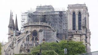 Toxic Lead Decontamination Work Begins Around Notre Dame Cathedral