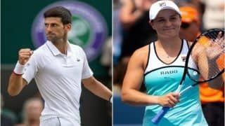 Cincinnati Masters 2019: Novak Djokovic, Ashleigh Barty, Richard Gasquet Advance to Semifinals; Naomi Osaka Retires With Knee Injury
