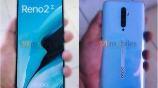 Oppo Reno 2 सीरीज के स्मार्टफोन्स की स्पेसिफिकेशंस और फोटो हुई लीक, जानें क्या हैं इनमें खास