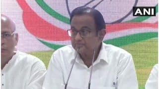 INX Media Case: Chidambaram Arrested, Taken to CBI HQ; to be Produced in Court Today