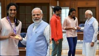 PM Narendra Modi Hails 'India's Pride' PV Sindhu, Lauds Her For Bringing Home Gold From BWF World Badminton Championships | WATCH VIDEO