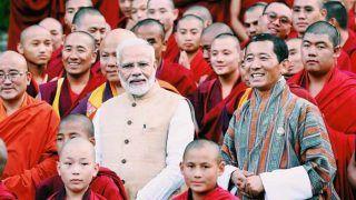 पीएम नरेंद्र मोदी का हिमालय की गोद में बसे भूटान ने कुछ यूं किया स्वागत, देखिए Photos