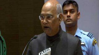 राष्ट्रपति ने जम्मू-कश्मीर में भारत का संविधान लागू करने संबंधी प्रावधान का आदेश जारी किया
