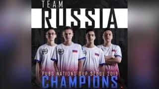 PUBG Nation's Cup टूर्नामेंट का विजेता बना रूस